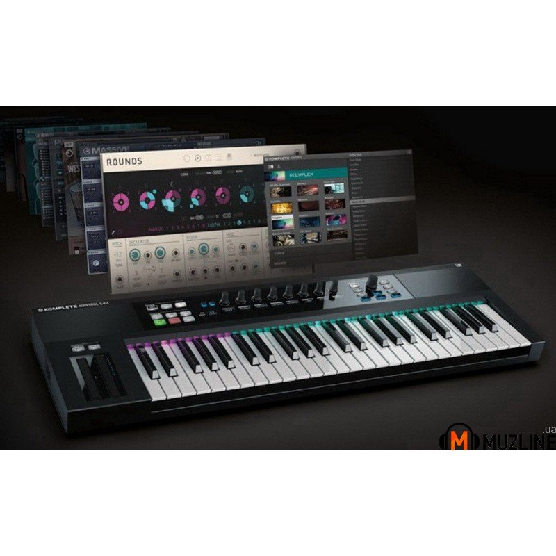 Миди-клавиатура Native Instruments Komplete Kontrol S49