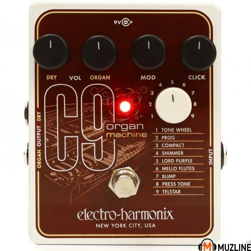 Гитарная педаль Electro-Harmonix C9 Organ Machine