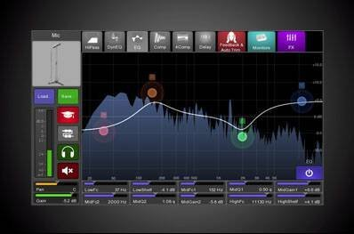 Line6 Stagescape M20d DSP effects
